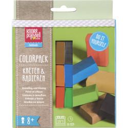 """Kneten & Radieren, Modelliermassen-Set """"Colorpack Basic"""""""