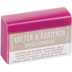 Kneten & Radieren, Modelliermasse, pink