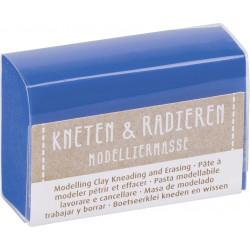 Kneten & Radieren, Modelliermasse, blau