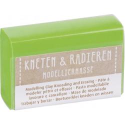 Kneten & Radieren, Modelliermasse, hellgrün