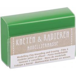 Kneten & Radieren, Modelliermasse, grün
