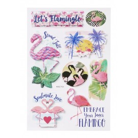 Sticker Flamingos
