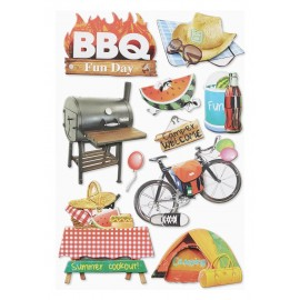 Sticker Barbecue