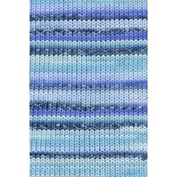 Tissa-Garn, 0225, türkis-blau meliert, 50g/80m