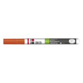 Deco Painter, 1-2mm, mandarine