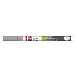 Deco Painter, 1-2mm, grau
