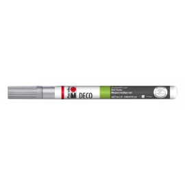 Deco Painter, 1-2mm, silber
