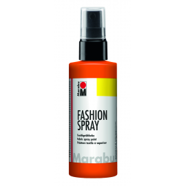 Fashionspray, 100ml, rotorange