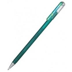 Metallic Gel-Tintenroller, grün-blau