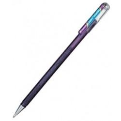 Metallic Gel-Tintenroller, violett-blau