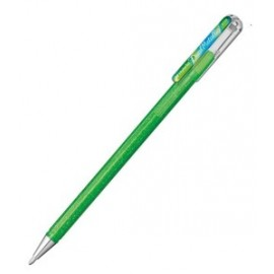 Metallic Gel-Tintenroller, metallic hellgrün, blau und rot