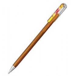 Metallic Gel-Tintenroller, metallic gold, rot und gold