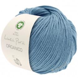 "Lana Grossa ""Organico"", 0101, taubenblau"