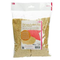 Hirseschalen Bio, 200g / ca. 1,8l