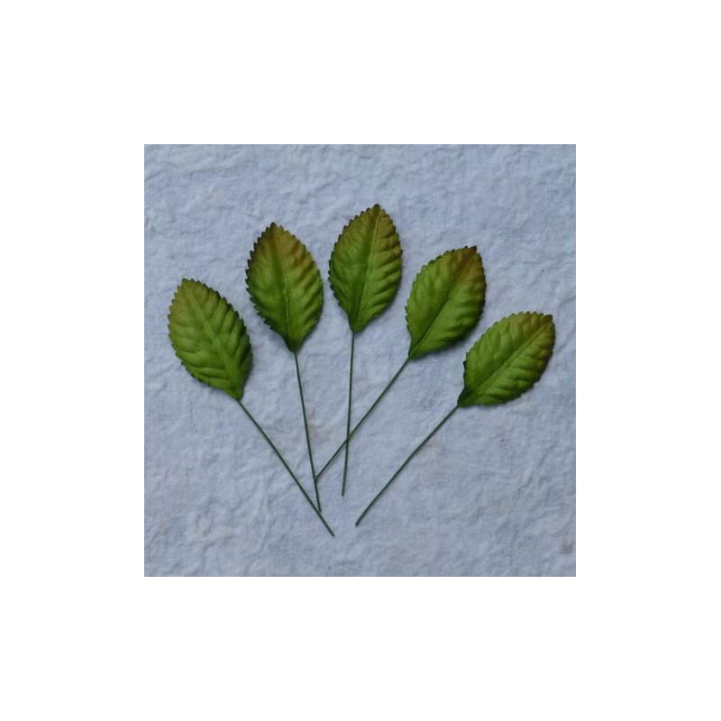 Blätter, grün, 35mm, 100Stk.