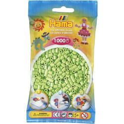 Bügelperlen pastell-grün, 1000Stk.