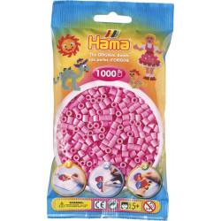 Bügelperlen pastell-pink, 1000Stk.