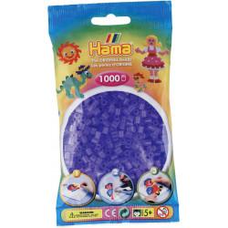 Bügelperlen transparent-flieder, 1000Stk.