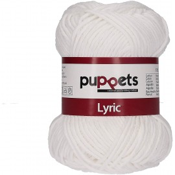 "Garn ""Puppets Lyric 8"", 05000, weiss"