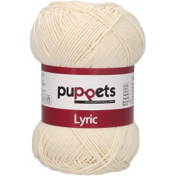 """Garn """"Puppets Lyric 8"""", 05002, beige"""