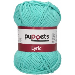 "Garn ""Puppets Lyric 8"", 05057, türkis"