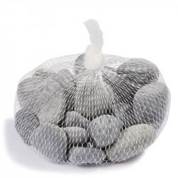 Steine Netz, 500gr. grau