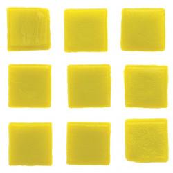 Mosaiksteine, 10x10mm, 100g, gelb