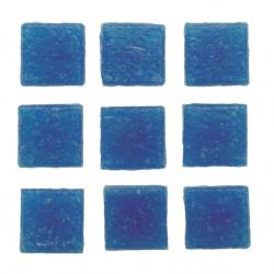 Mosaiksteine, 10x10mm, 100g, dunkelblau