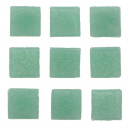 Mosaiksteine, 10x10mm, 100g, helltürkis