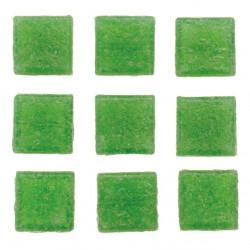 Mosaiksteine, 10x10mm, 100g, hellgrün