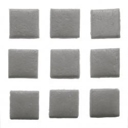 Mosaiksteine, 10x10mm, 100g, dunkelgrau