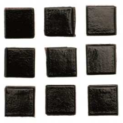 Mosaiksteine, 10x10mm, 100g, schwarz
