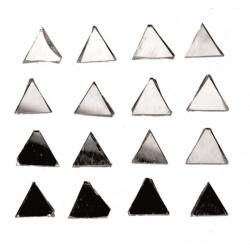 Spiegel-Mosaik, Dreieck, 100g, 8x8x2mm