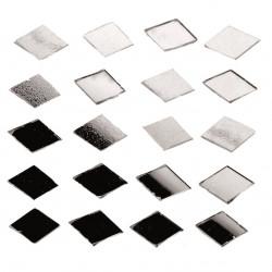 Spiegel-Mosaik, Raute, 100g, 15x10x2mm