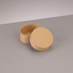 Kartonbox rund, Ø 6.5cm,  Höhe: 2.7cm