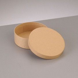 Kartonbox rund, Ø 8.5cm,  Höhe: 3.1cm