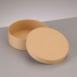 Kartonbox rund, Ø 10.5cm,  Höhe: 3.6cm