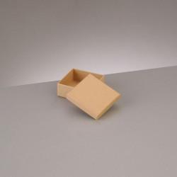 Kartonbox quadrat, 6.5x6.5cm, Höhe: 2.7cm