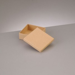 Kartonbox quadrat, 8.5x8.5cm, Höhe: 3.1cm