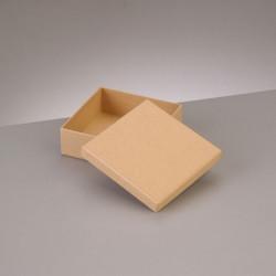 Kartonbox quadrat, 10.5x10.5cm, Höhe: 3.6cm