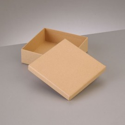 Kartonbox quadrat, 6.5x6.5cm Höhe: 4.5cm