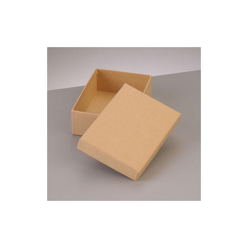 Kartonbox rechteck, 12.5x8.5cm, Höhe: 4cm