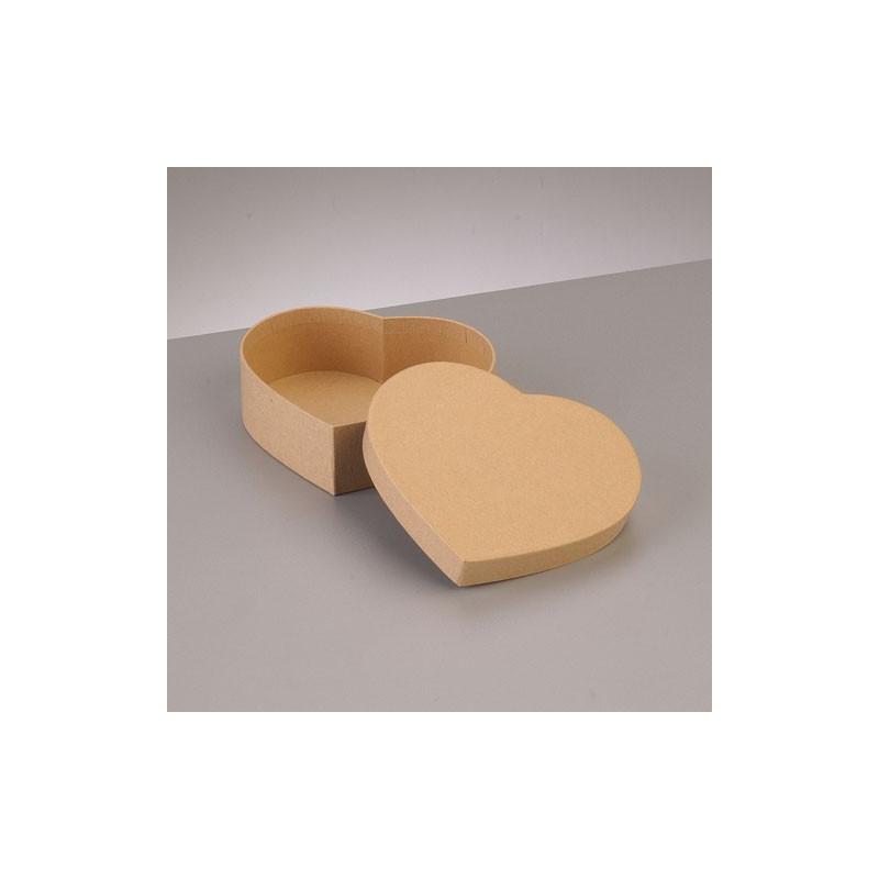 Kartonbox Herz