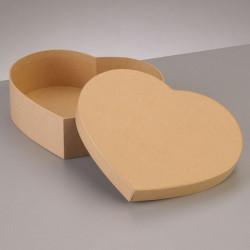 Kartonbox Herz, 8.5x7.5cm, Höhe: 5cm