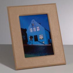 Kartonbilderrahmen, 24x19 / 16x11cm, rechteckiger Auschnitt