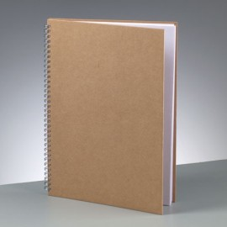 Notizbuch, A4, 30x21.5cm, 60 Blatt