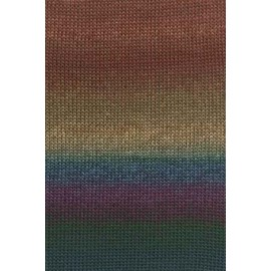 "Lang ""Mille Colori Baby"", 0200, braun-grün-violett"