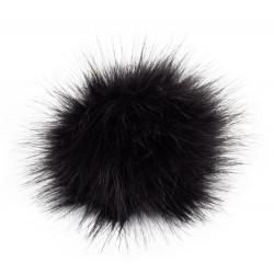 Pompon, 12cm, black