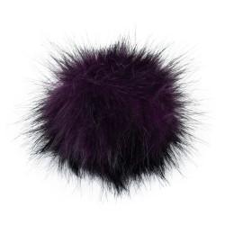 Pompon, 12cm, purple