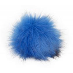 Pompon, 12cm, ocean blue
